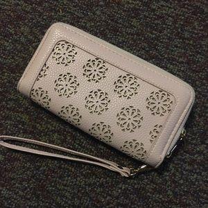 Cute light pink wallet!!